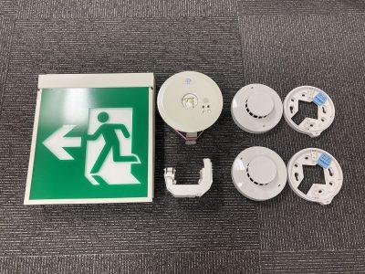令和2年8月 中区事務所増設工事(感知器、誘導灯、非常照明)