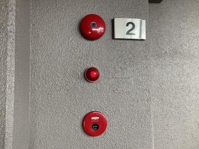 令和2年11月 東区マンション 自火報改修工事 作業内容4