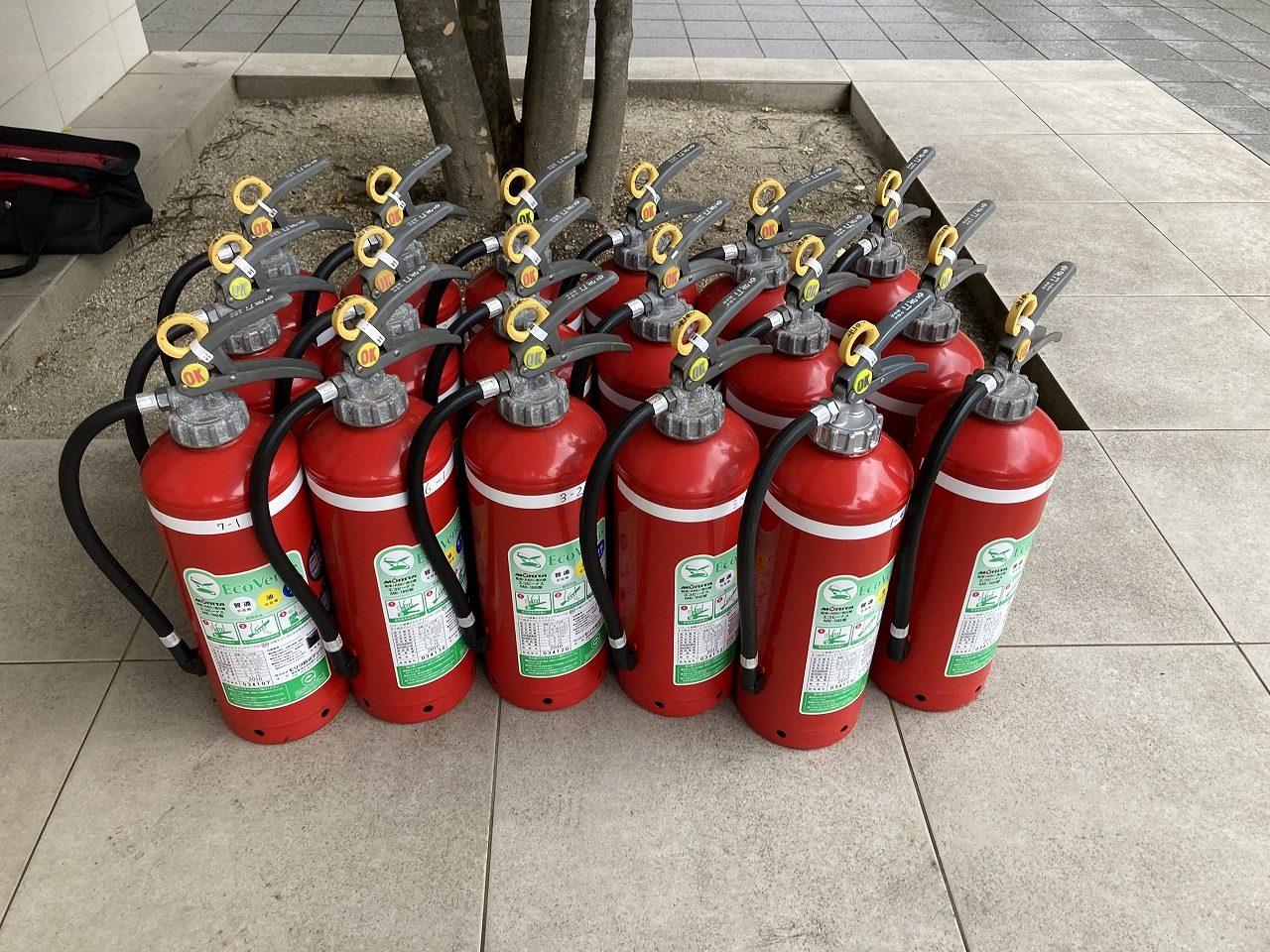 令和2年12月 千種区 マンション 消防点検