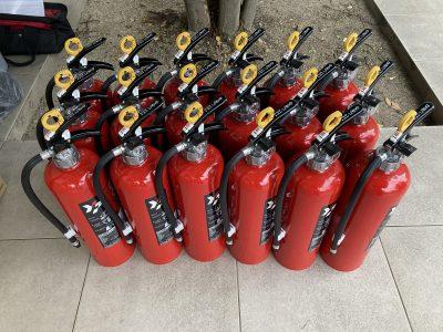 令和2年12月 千種区 マンション 消防点検 作業内容1