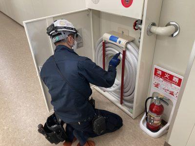 令和2年12月 桑名市 工場 消防点検 作業内容1