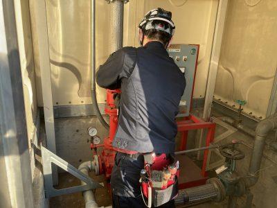 令和2年12月 高浜市工場 消防点検