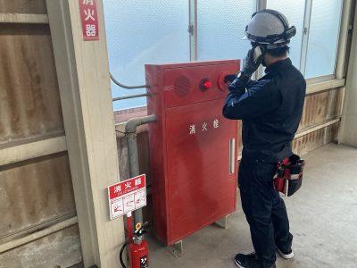 令和2年12月 高浜市工場 消防点検 作業内容1