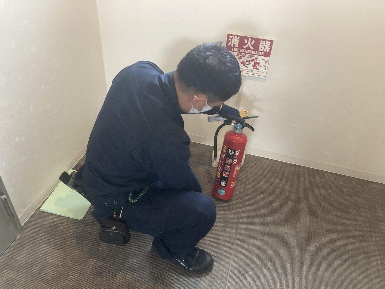 令和2年12月 中村区マンション 消防点検
